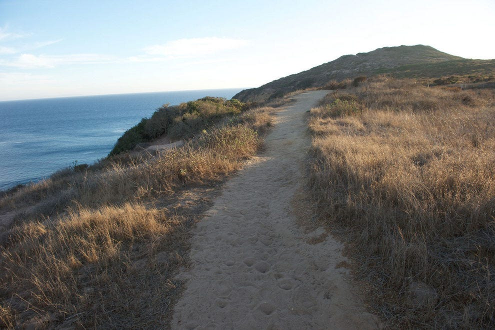 The trails at Point Dume