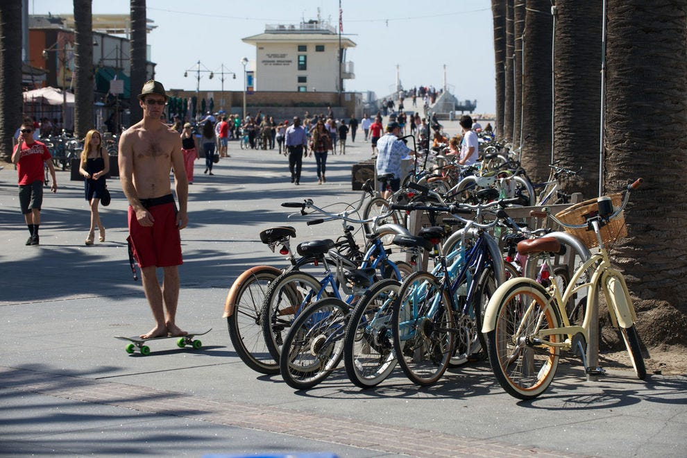 Don't miss out on the bike culture along the boardwalk