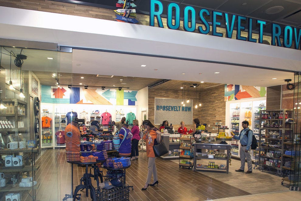 Shoppers at PHX find both regional and international brands
