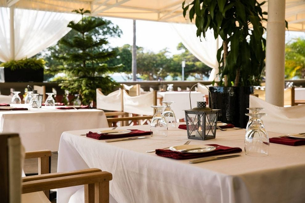 Dine alfresco, indoors or even in bed at Screaming Eagle