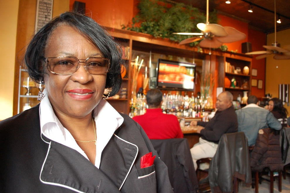 Mama J's owner Velma Johnson