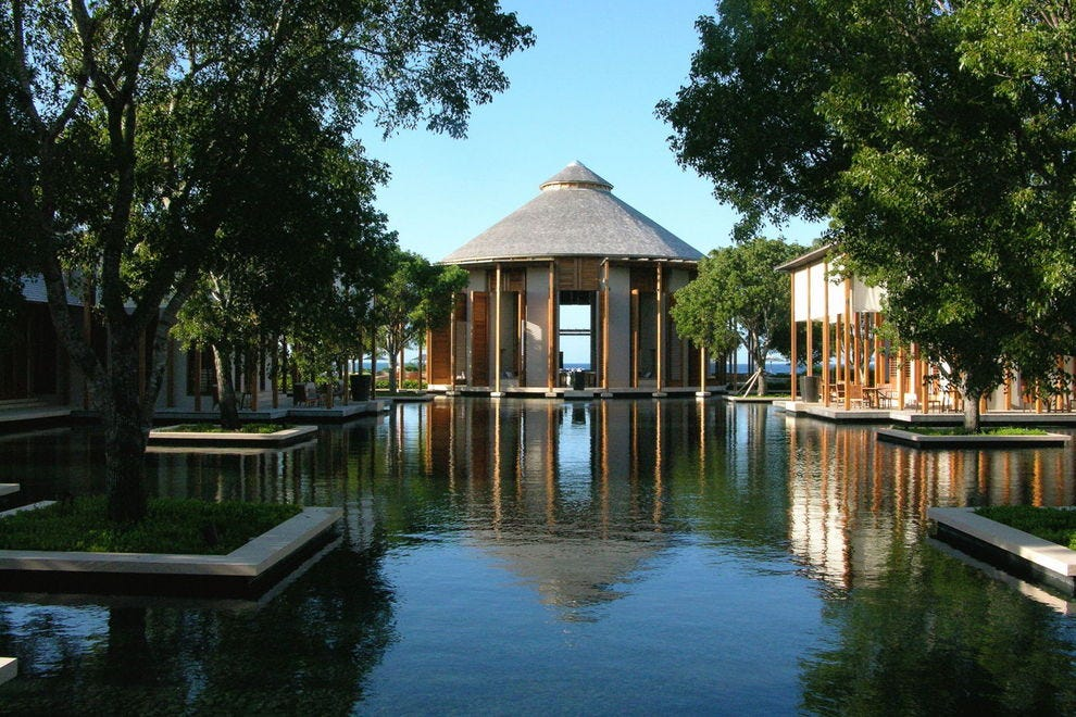 The Asian and water aesthetic of Amanyara
