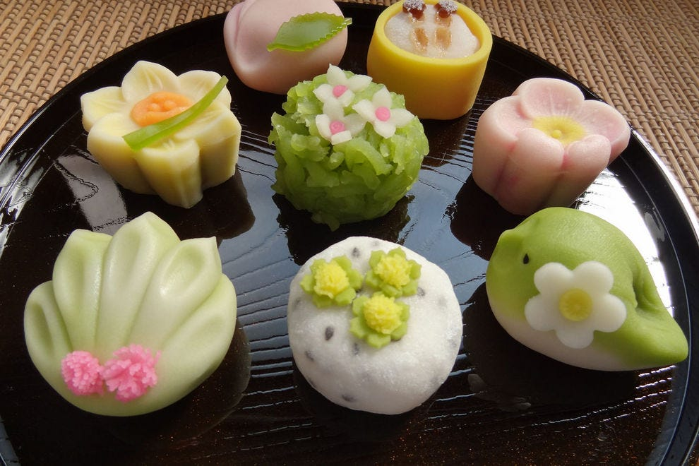 Wagashi are often as adorable as they are delicious