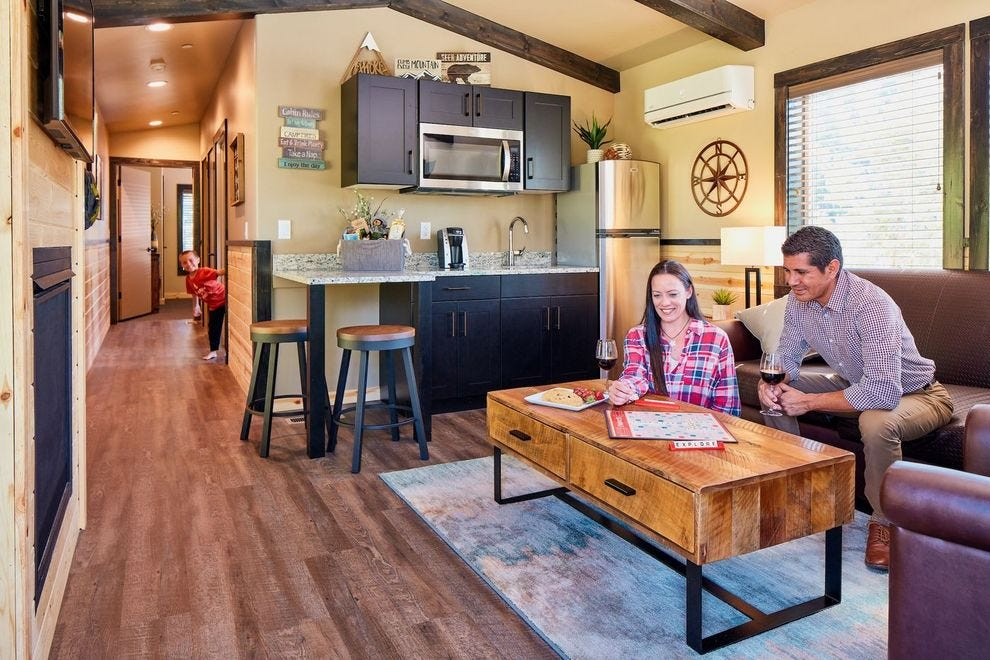 You'll find all the comforts of home at Tenaya Lodge