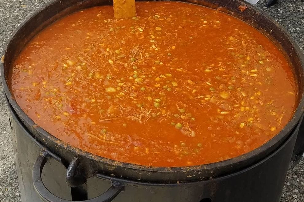 Brunswick stew from Smohk RVA