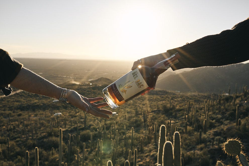 Whiskey with a Sonoran Desert flair
