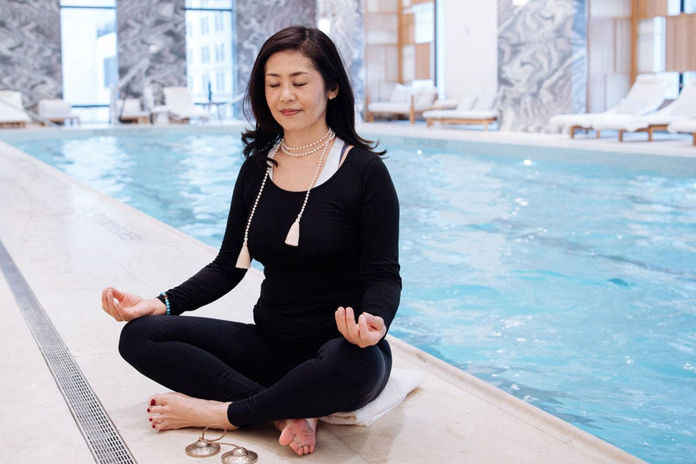 Snow Shimazu, travel wellness expert at Four Seasons Downtown