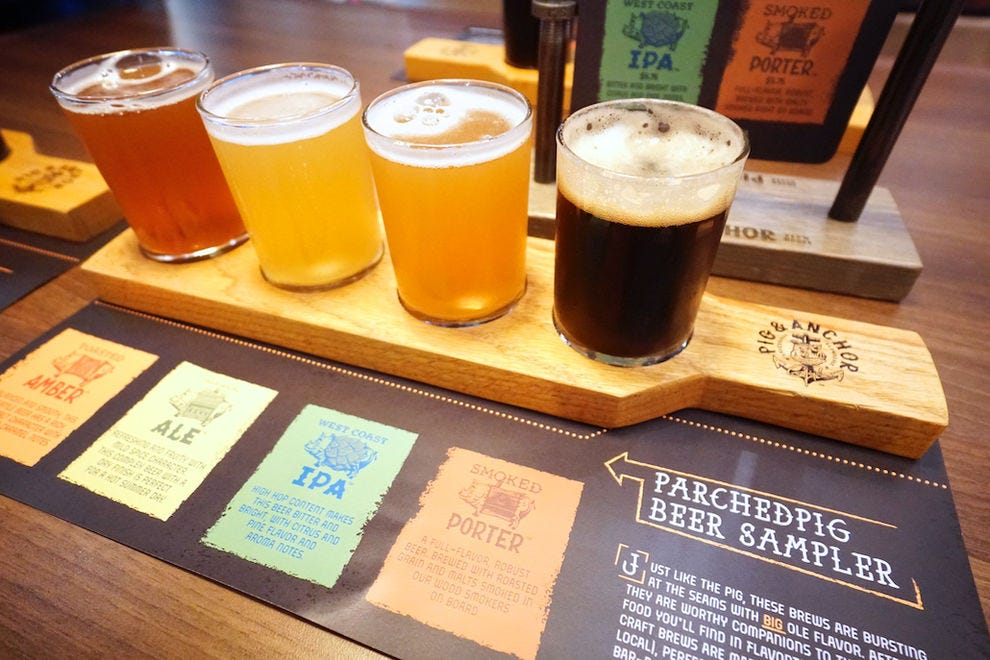 "Guy's Pig &amp; Anchor Smokehouse | Brewhouse elevates beer on <em>Carnival Horizon</em> with craft varieties""><span class="
