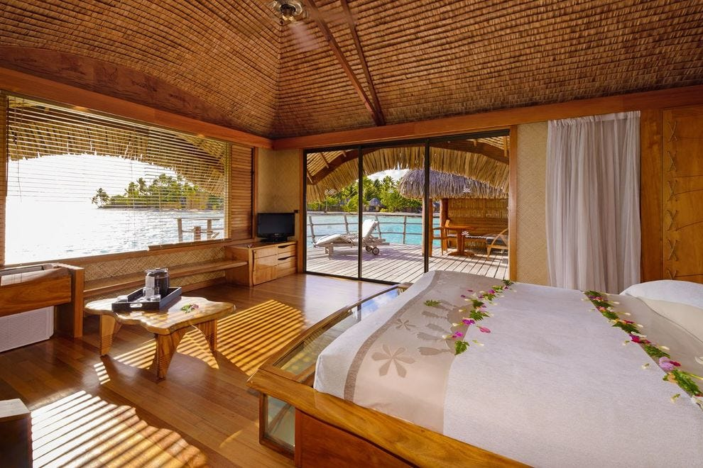 Make your South Pacific dreams come true at this luxurious resort