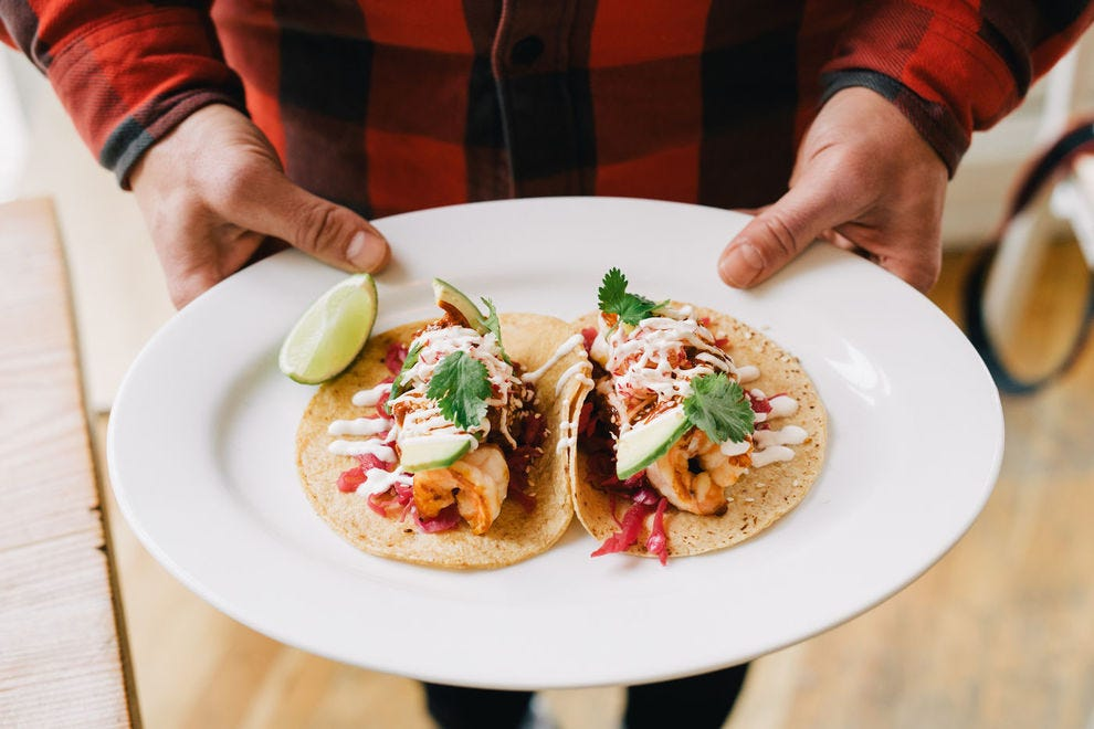 Seamore's Fish Tacos