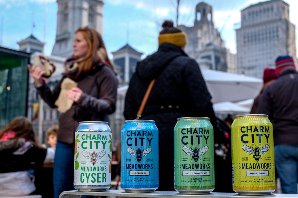 Charm City's draft meads are light, carbonated and for many newcomers, unexpectedly dry