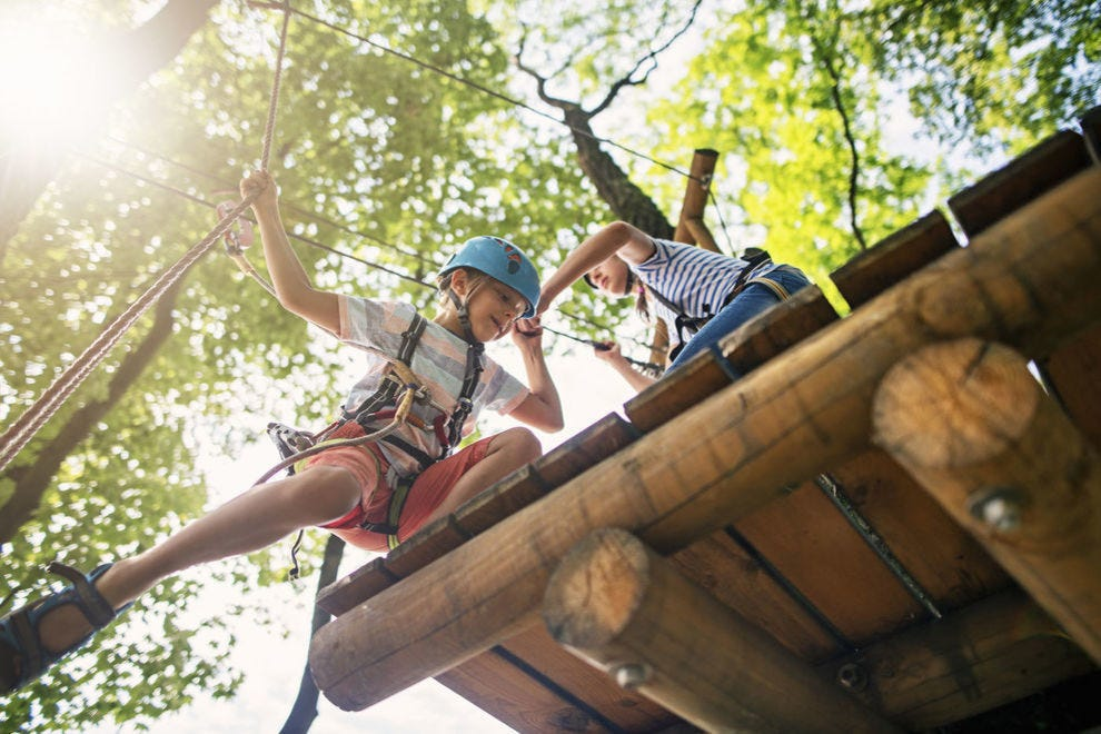 These parks offer thrills for all ages and ability levels