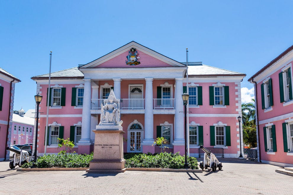 Government House in Nassau