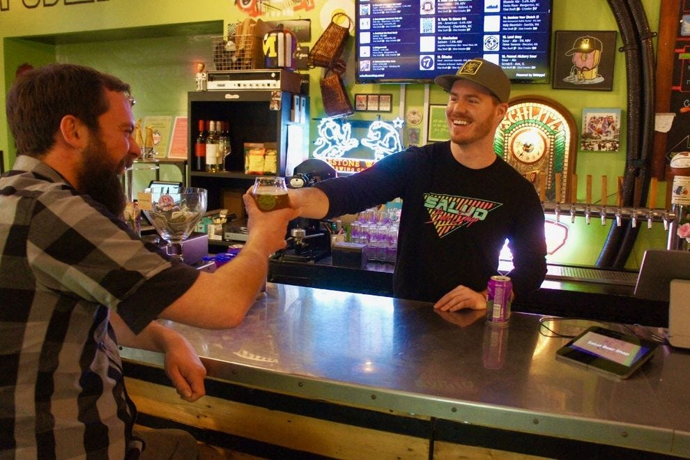 Winning beer bar offers hundreds of bottles and 16 beers on draft