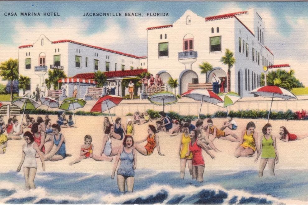 Casa Marina was the belle of Jacksonville Beach in the 1920s.