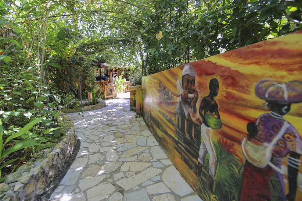 Experience true Rasta culture at Zimbali Retreats in Jamaica