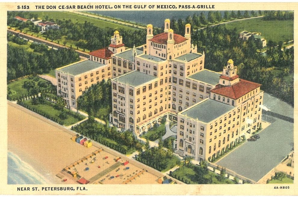 The rescued Don CeSar celebrates its glories past and present.