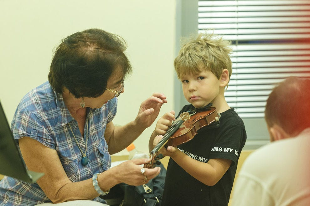 Music is the universal language at the George Schaeffer Music Conservatory