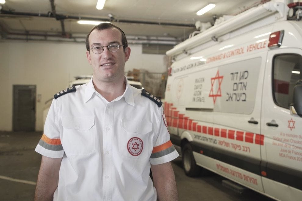 Magen David Adom is Israel's national ambulance service
