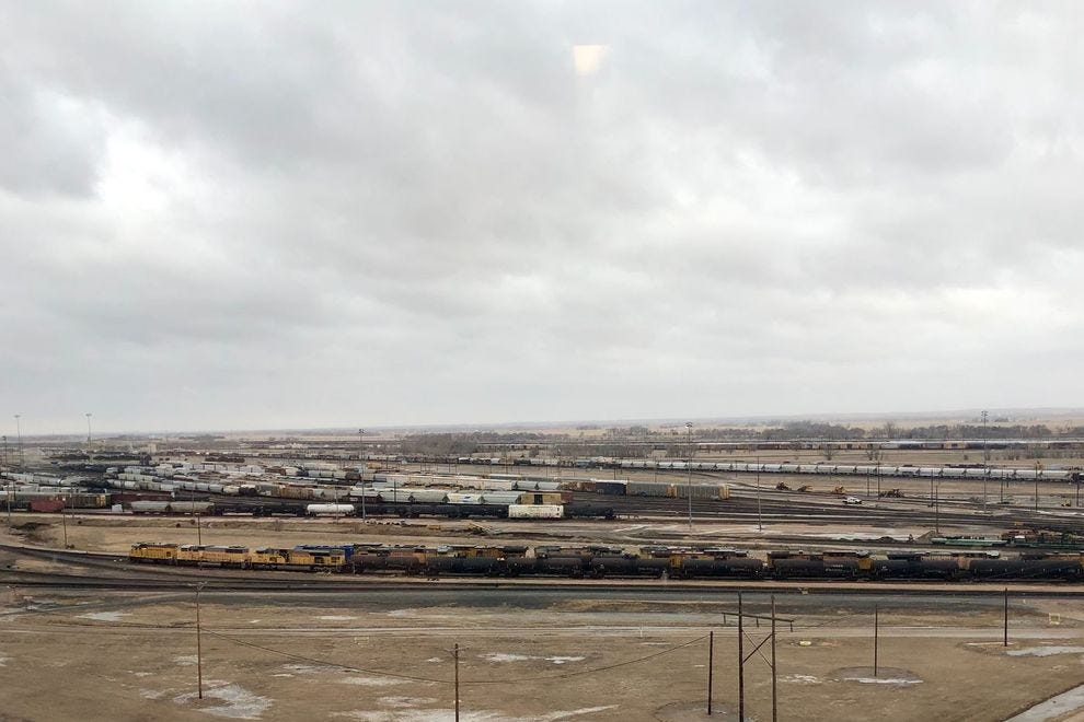 Bailey Yard, North Platte