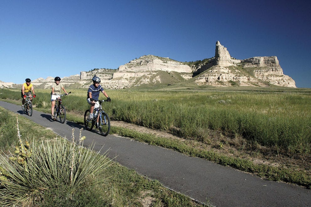 Scotts Bluff National Monument, Gering