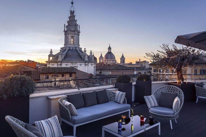 Divinity Terrace Lounge Bar And Restaurant Rome Restaurants