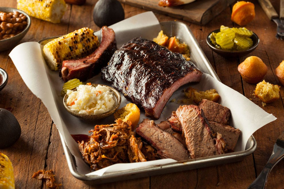 Burnt ends are a specialty of Kansas 'cue