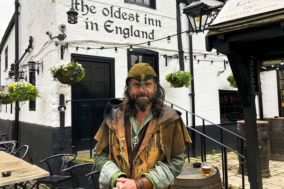 Follow Ezekial Bone, aka Robin Hood, through Nottingham on a tour filled with truth, poetry and tall tales.