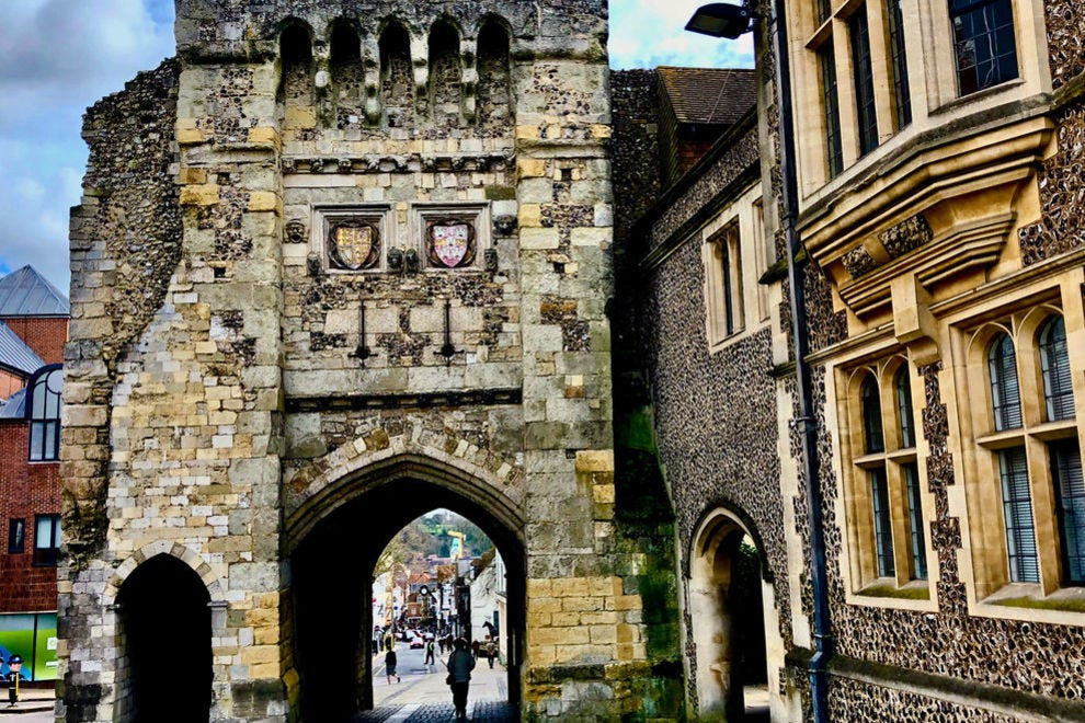 Kings, queens and, yes, literary legends have walked beneath this ancient archway in historic Winchester.