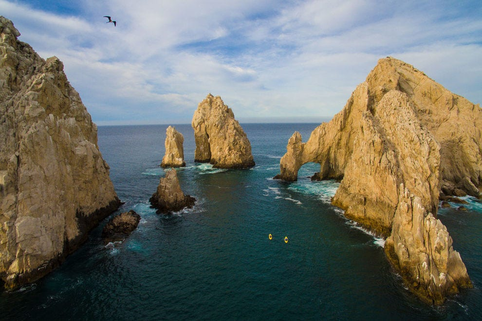 Tour companies like Cabo Adventures take boaters by the distinctive rock formation locally known as El Arco