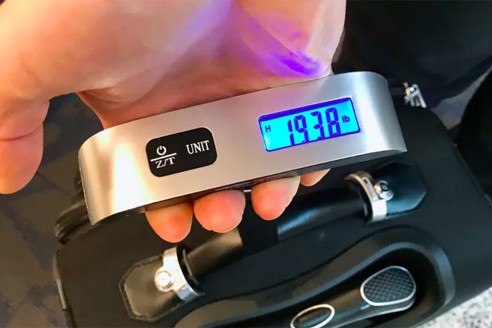 Dr. Meter Digital Luggage Scale