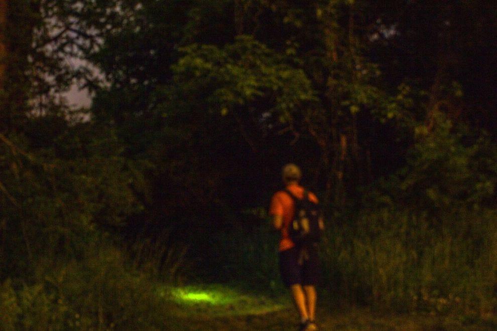 Night hiking in Nashville