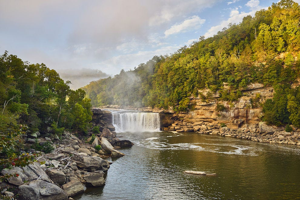 10 of the best and easiest waterfall hikes in the Southeast