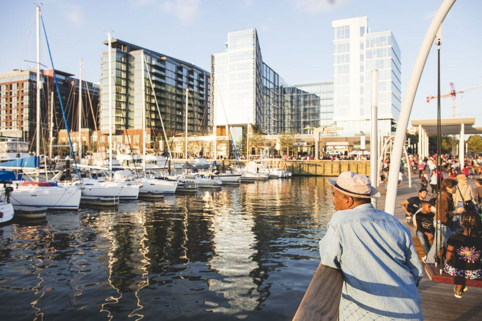 The Wharf, on D.C.'s Southwest waterfront, proves a great spot to find culinary and cultural gems