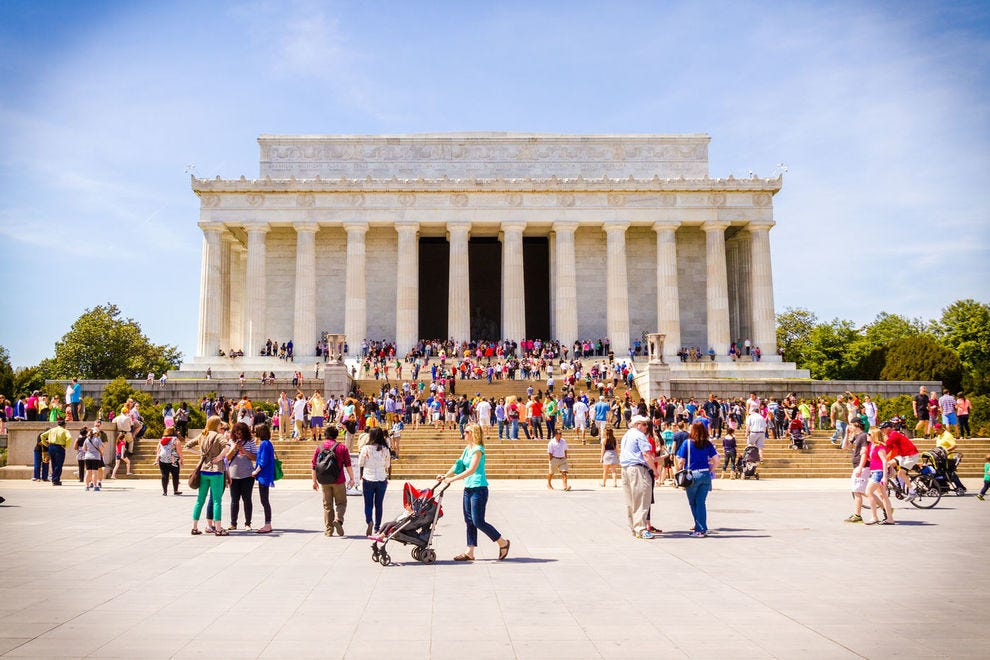 Explore the National Mall via bike, Segway or on tours led by companies like Washington Photo Safari