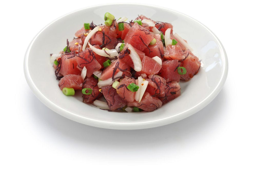 Who makes the best poke in the state?