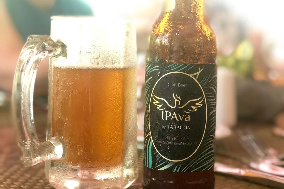 Tabacón's other proprietary brew