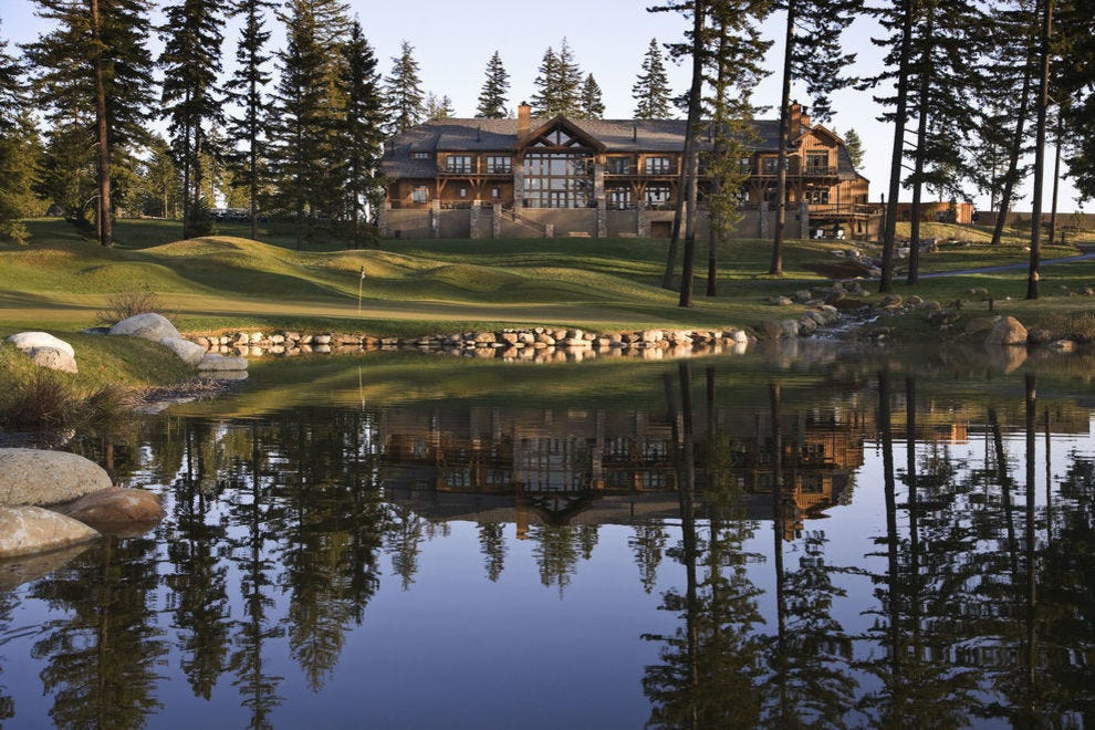 Lodge life reigns supreme in dreamy Washington settings