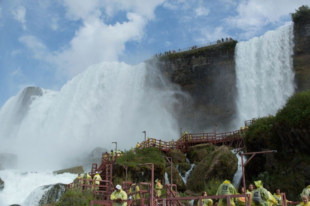 Cave of the Winds gets visitors up close and personal with Niagara Falls