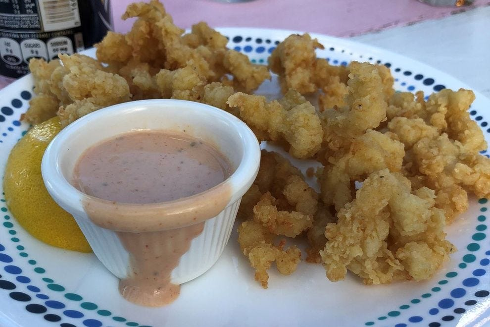 This fried dish is common in both the Bahamas and Turks and Caicos