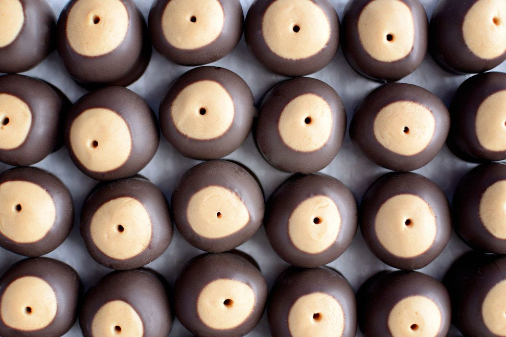 Buckeye candies