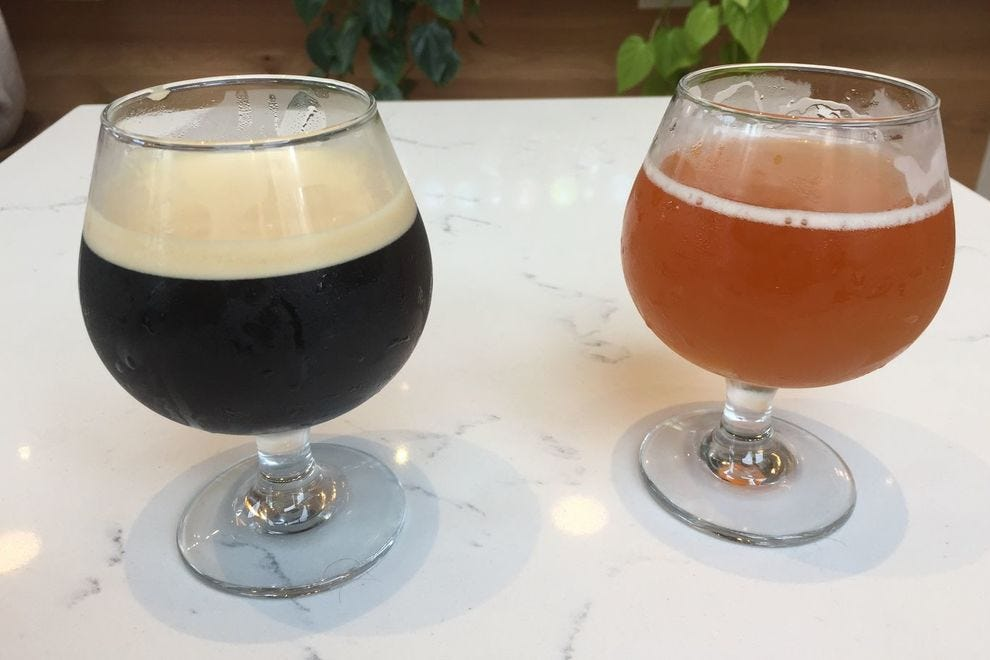 Drink beer and nitro coffee at Platform.