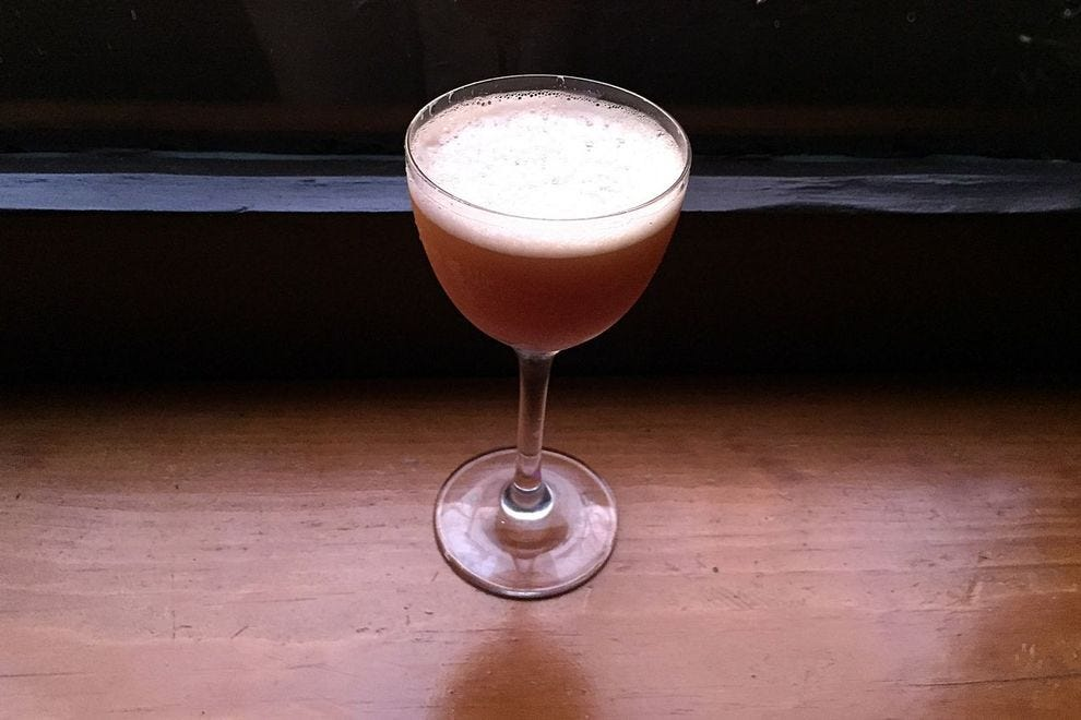 Dr. Jones, one of Other Room's rum-based cocktails