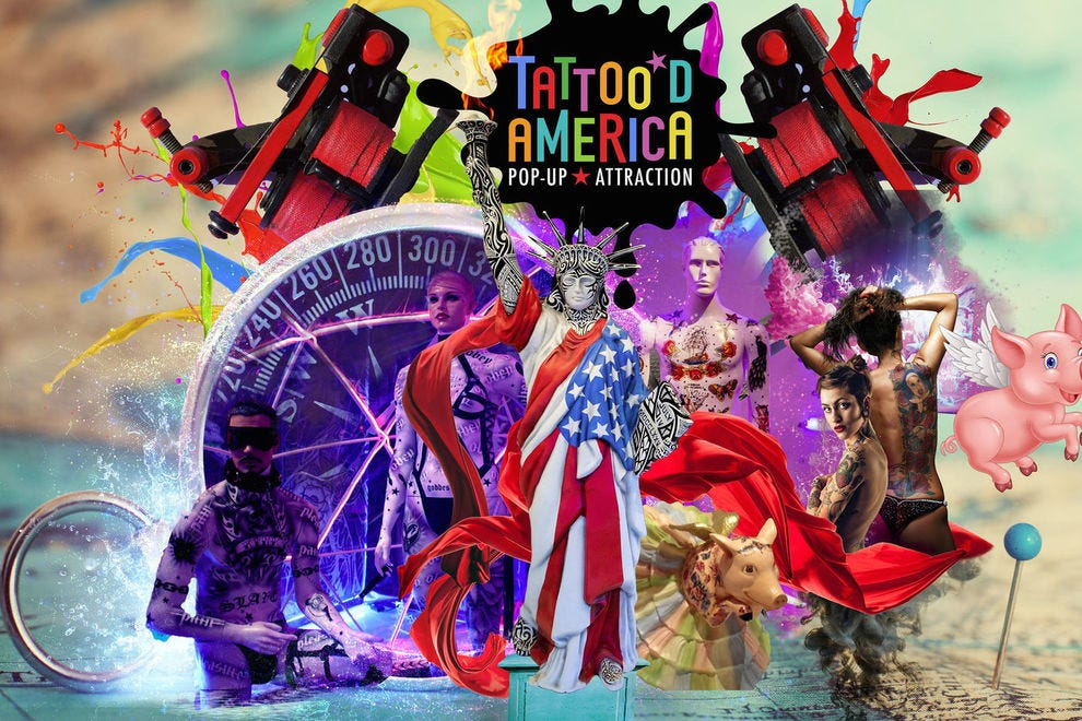You need to see this interactive tattoo exhibit before it's gone