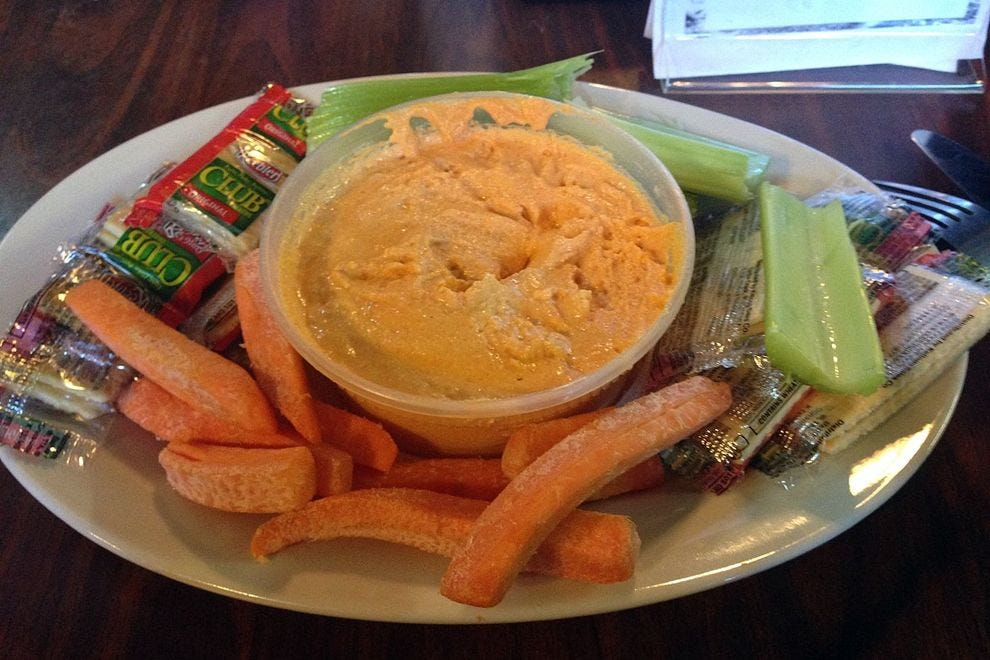 Blue Isle's beer cheese platter is a part of the trail