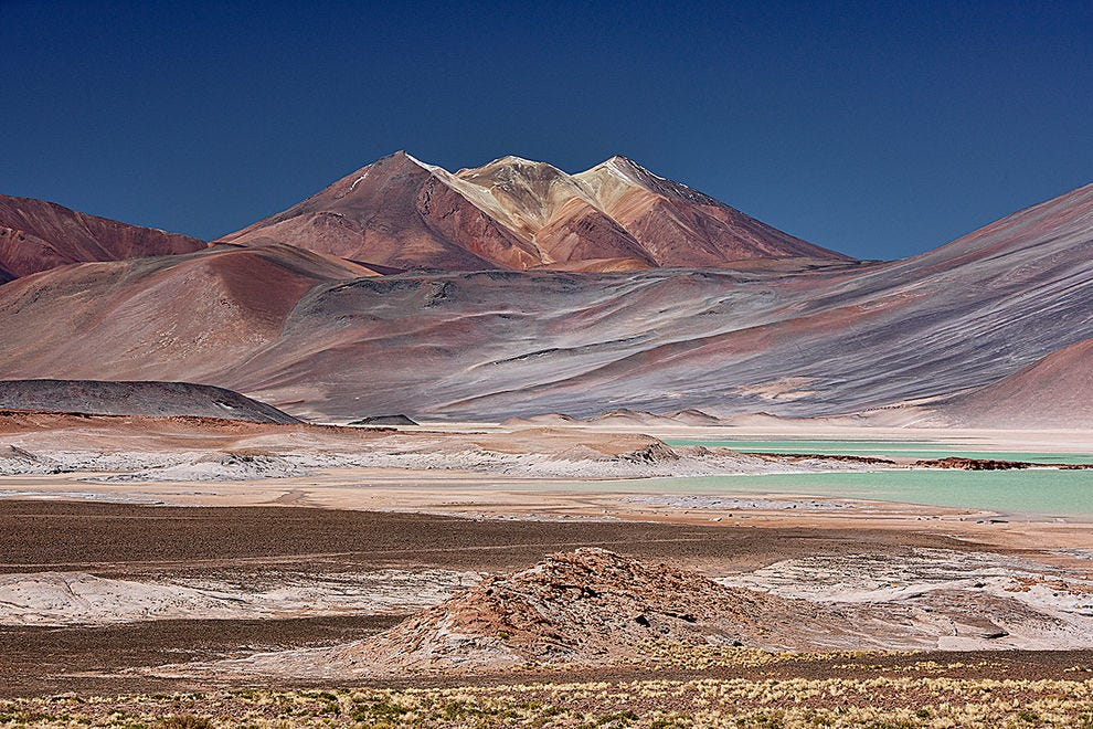 Surreal Atacama colors