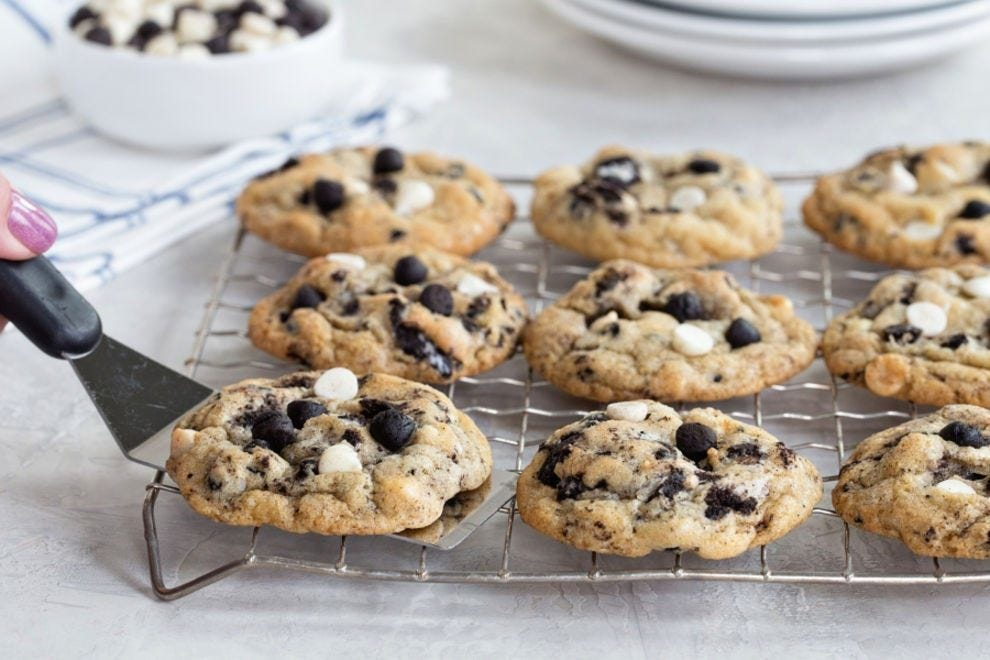 It's the best of both chocolate chip cookies and cookies n' cream