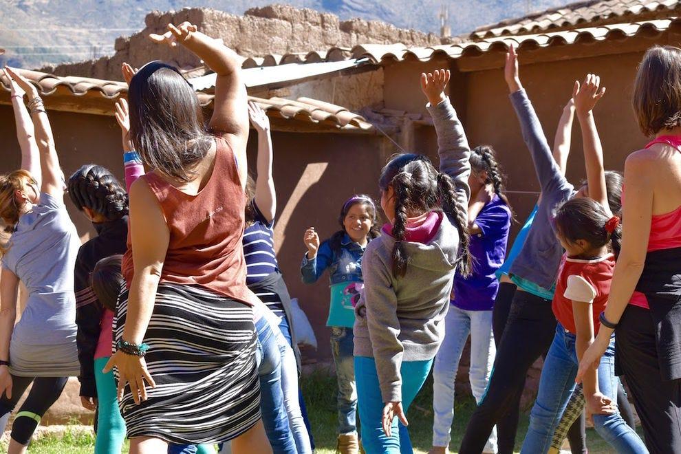 A Souljourn Yoga retreat in Peru