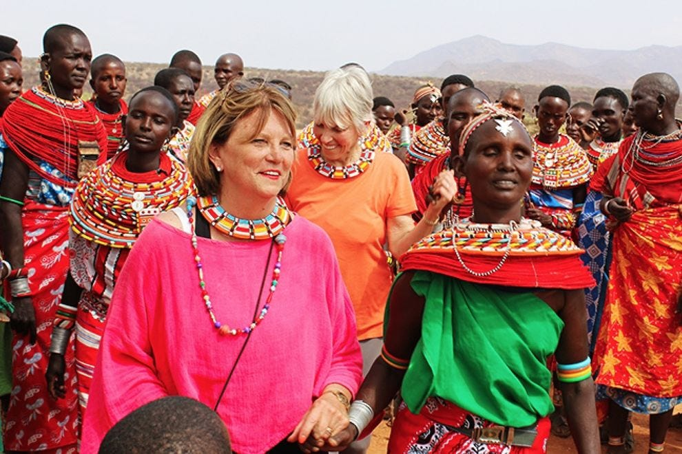 American women and Kenyan women get to know each other through Global Heart Journeys