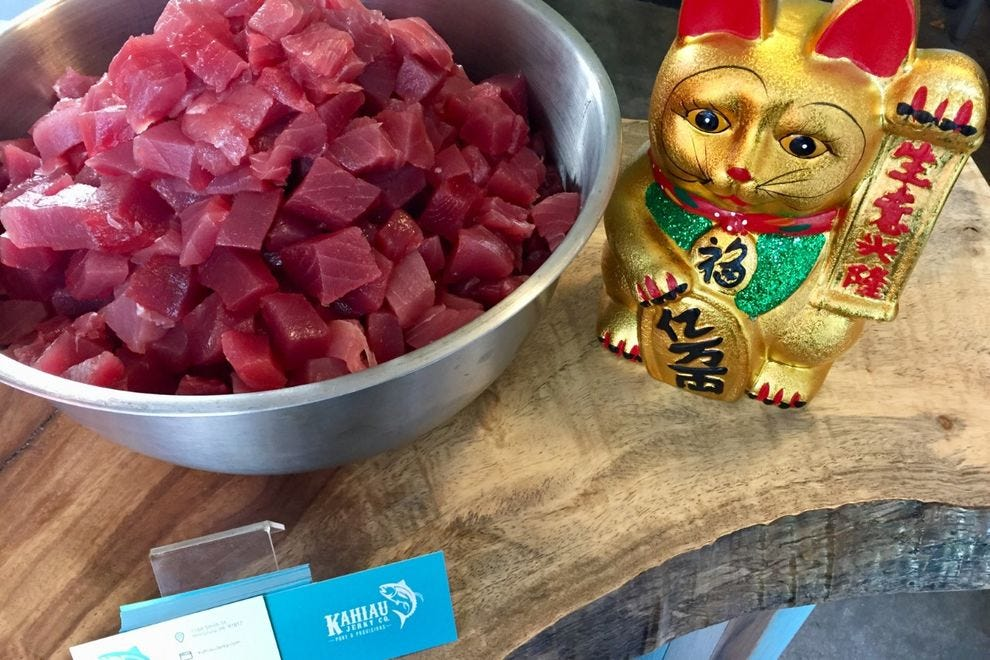 Winning restaurant serves six varieties of poke